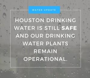 Houston's Water Plants Still Operational