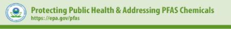 EPA PFAS fact sheet banner